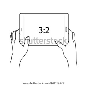 Tablet Used Navigation Showing Map Image Vectorielle 146728073  Shutterstock