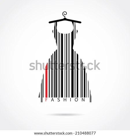 Christmas Tree Barcode Icon Stock Vector 189297410
