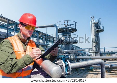 Engineer Controlling Quality Water Aerated Activated Stock Photo 197191664  Shutterstock