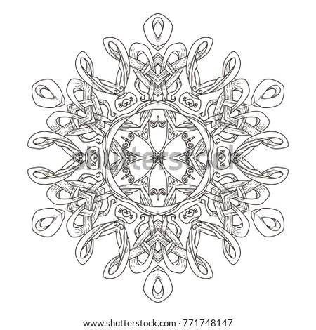 Vector Image Celtic Cross Patterns Stock Vector 102162184