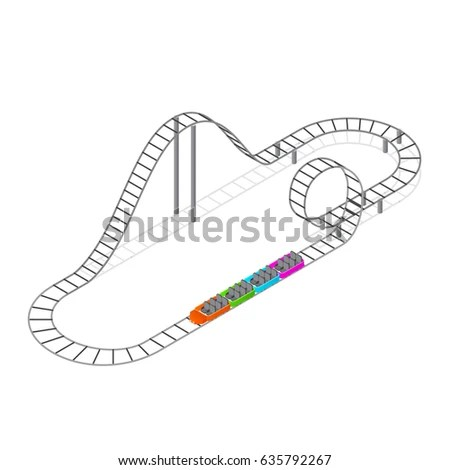 Waste Water Treatment Plant Stylized Outline Stock Vector