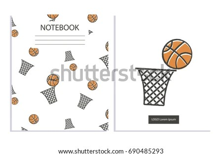 Basketball Tournament Sports Posters Design Isometric
