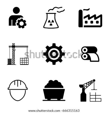 Vector Isolated Criminalpolice Icons Set Stock Vector