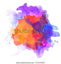 Abstract Geometric Colorful Composition Tornado