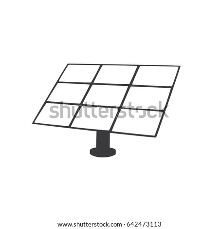 Vector Hand Drawn Solar Battery Sun Stock Vector 362516141