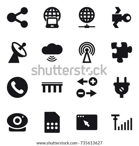 Industry 40 Vector Icon Set Industrial Stock Vector