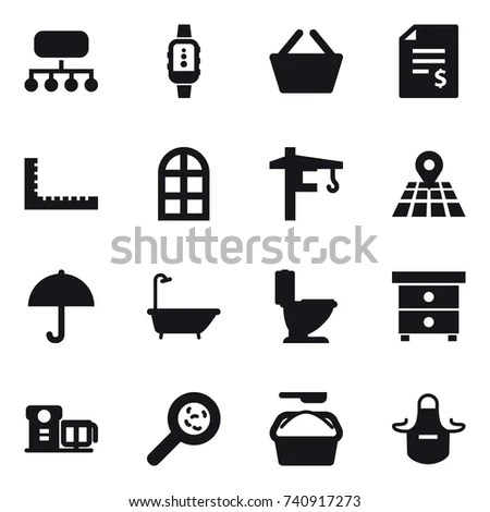Warehouse Building Symbol Warehouse Icon Wiring Diagram