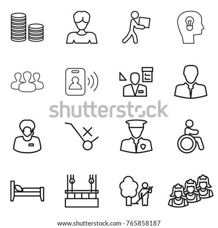 Sick Icon Set Immagine Vettoriale Stock 313878944