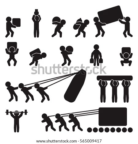 Illustration Thai Farmer Icon Set Stock Vector 316367189