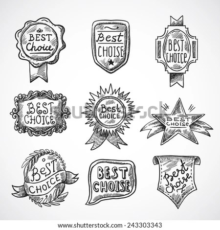 Happy Teachers Day Design Insignias Logotypes Stock Vector