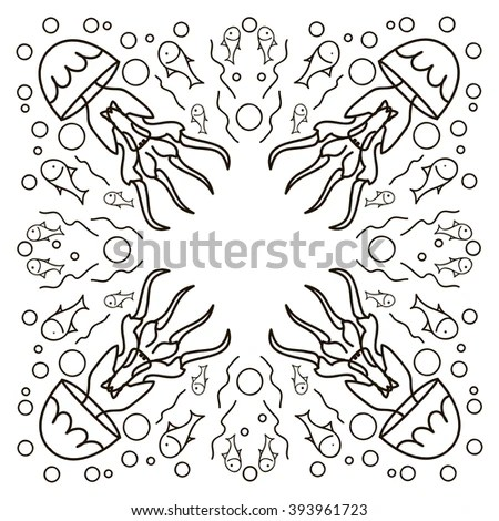 Greeting Equal English Hi Written Different Stock Vector