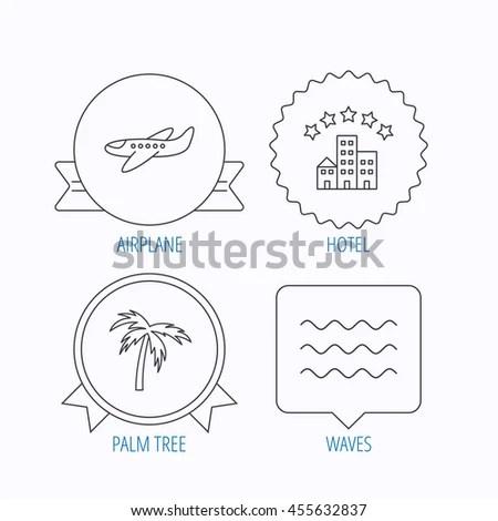 Set Six Creative Cards Marine Theme Stock Vector 274651814