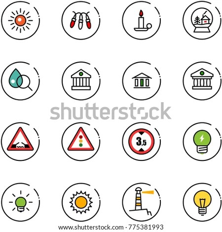 Regulations Chart Keywords Icons On Yellow Stock Vector