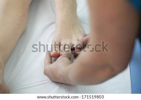 Abdominal Pain Young Man Kidney Stomach Stock Photo