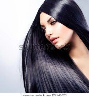 hair beautiful brunette girl healthy