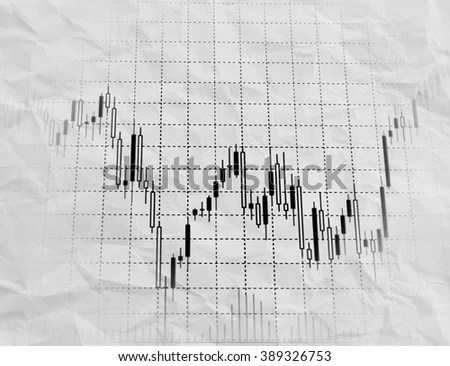 Candle Stick Graph Chart Stock Market Stock Vector
