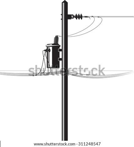 Electrical Substation Highvoltage Transformer Switch Risk