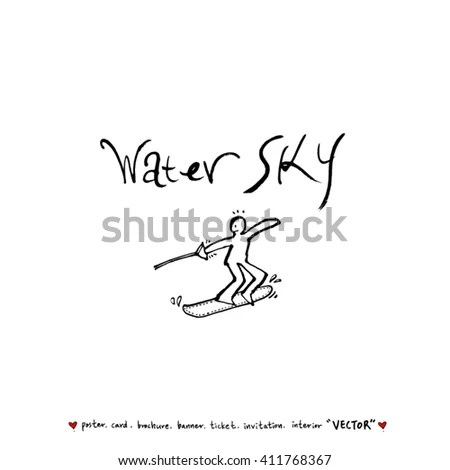 Silhouette Fairy On Moon Vector Illustration Stock Vector