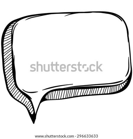 Cartoon Speech Bubble Stock Illustration 97635002