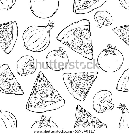 Coloring Pages Adultsdecorative Hand Drawn Doodle Stock