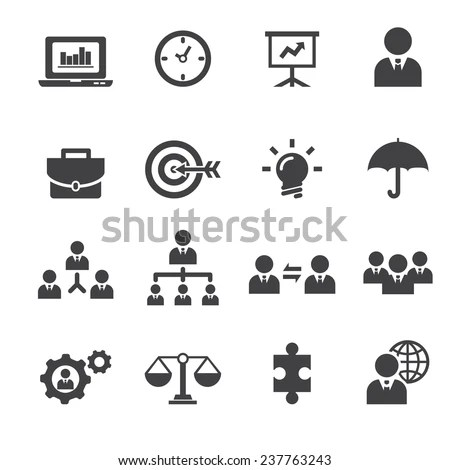 Business Strategy Management Marketing Web Colorful Stock