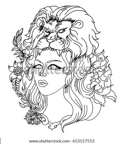 Dionysus Ancient Greek God Grape Harvest Stock Vector