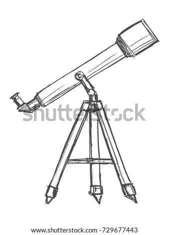 Old Sniper Rifle Scope Attached On Stock Photo 105833879
