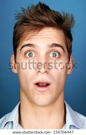 horse saddle office chair casters for chairs on carpet funny face man portrait real silly fun expression - stock photo