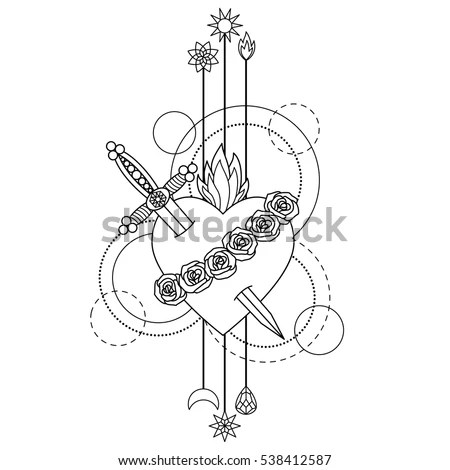 Bagpipe Icon Outline Illustration Bagpipe Vector Stock
