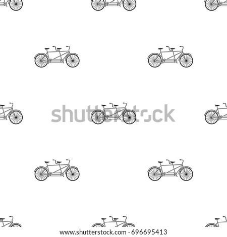 Simple Modern Motorcycle Vector Icon Set Stock Vector
