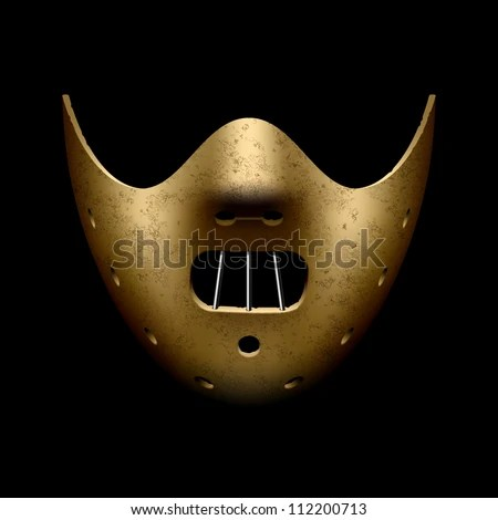 Hannibal Halloween mask. Vector. - stock vector