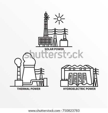 Train Station Building Icon Flat Style Stock Vector