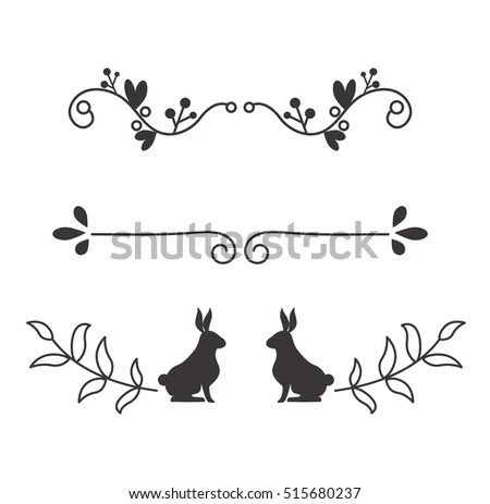 Text Divider Grunge Element Can Be Stock Vector 496264396