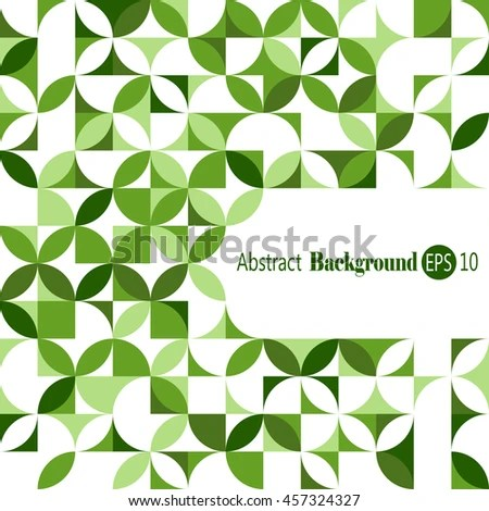 Awesome Abstract Geometric Background Stock Vector