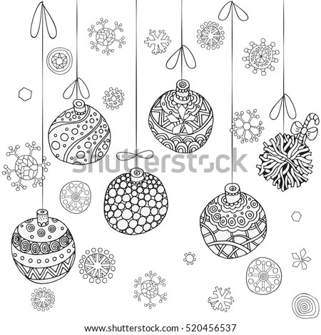 Russian Folk Ornament Painting Vintage Floral Stock Vector
