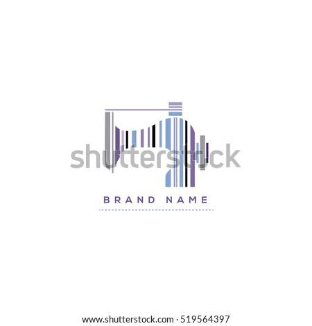 Tailors Vector Logo Template Fashion Logo Stock Vector