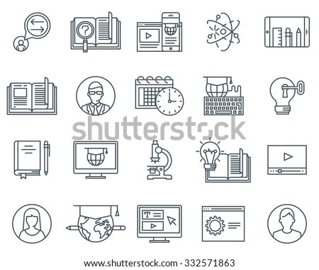 Business Finance Icon Set Suitable Info Stock Vector