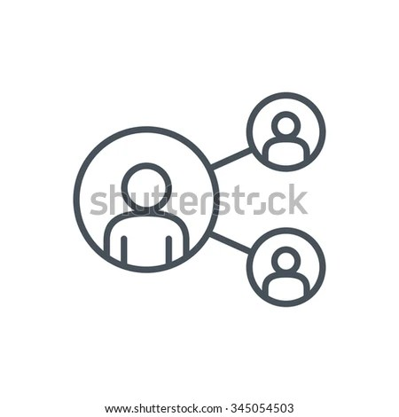 Share Network Icon Suitable Info Graphics Stock Vector