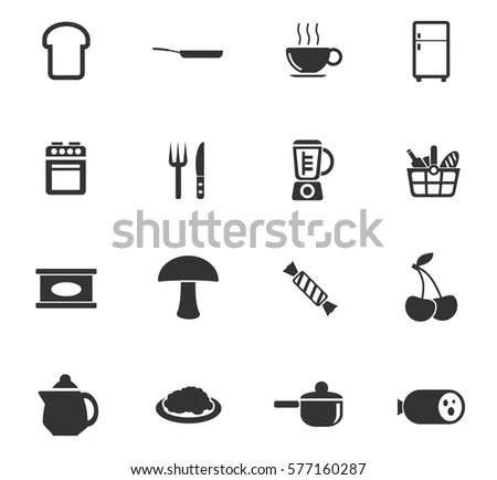 Pictogram Cooking Instruction Manual Preparation Vector
