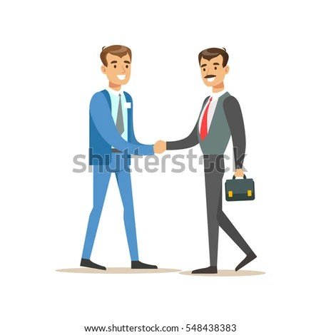 Bank Service Professionals Clients Different Financial Stock Vector 515466406  Shutterstock