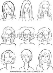 hairstyles illustration twelve