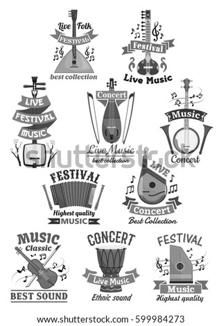 Sketched Five Piece Drum Set Symbol Stock Vector 422976430