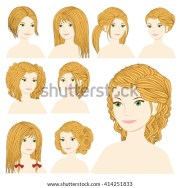 beautiful cartoon blonde girl magnificent