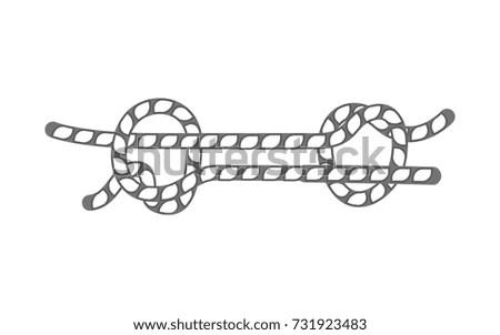 Vector Illustration Broken Handcuffs Freedom Freedom Stock