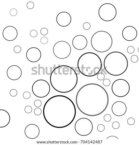 Seamless Soap Bubbles Pattern Vector Hand Stock Vector