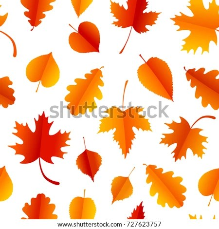 Fall Maple Leave Tiled Wallpaper Autumn Icon Set Fall Leaves Berries Stock Vector 150285002