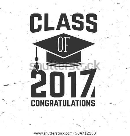 Graduation Wishes Monochrome Overlays Lettering Labels