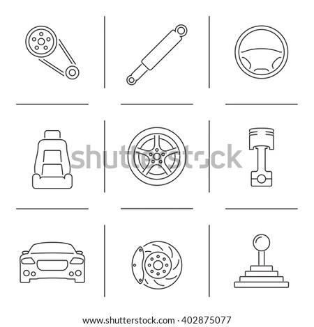 Car Maintenance Symbols, Car, Free Engine Image For User