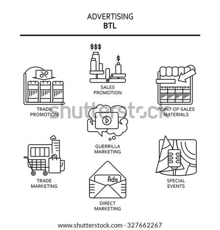 4 P Marketing Mix Elegant Icon Stock Vector 371039813
