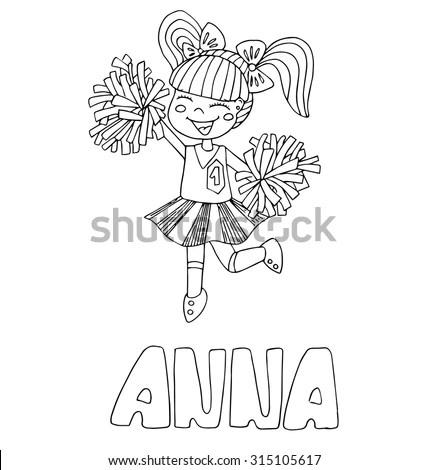 Vector Cute Fairy Gothic Lolita Girl Stock Vector